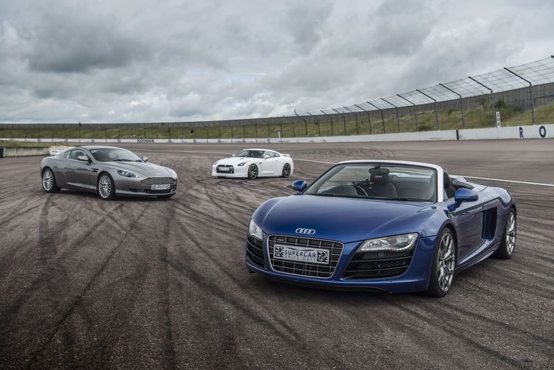 Silver Three Car Drive Supercar Driving Experience Package